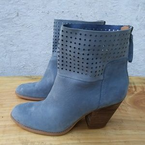 Nine West blue ankle boots